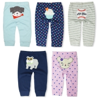 Limited Sale Baby Pants Kids Boys Girls Harem PP Trousers Knitted Cotton Unisex Toddler Leggings Newborn Infant Clothing