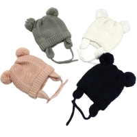 3 Sizes Baby Hats 0-2 Years Boys Girls Hats Kids Winter Hats Bonnet Enfant Hat For Children Baby Muts KF744