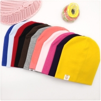 New Baby Street Dance Hip Hop Hat Cotton Spring Autumn Toddler Hat Scarf for Boys Girls Cap Winter Warm Solid Color Children Hat