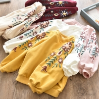 2020 Baby Girls Sweatshirts Spring Autumn Children hoodies kids long sleeve T shirts  Clothes for Girl Hoodie sweater