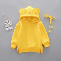 New Spring Autumn Baby Boy Girl Clothes Cotton Hooded Sweatshirt Children's Kids Casual Sportswear Infant Leisure sport Clothing
