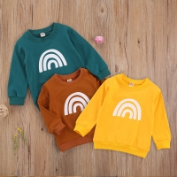 2019 Autumn Kids Baby Boys Sweatshirts Leopard Print Hoodies Casual Long Sleeve Children's Tops Toddler Boy Clothes