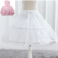 Baby Girls Tutu Skirts Flower Girl Petticoat Children Infant Girl Skirts Princess Tulle Party Underskirt Skirts For Kids Costume