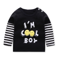 Unini-yun Fashion brand balloon print 2018 Kids Girl Clothes Print Cotton Long Sleeve T Shirts Rainbow for Girls baby Clothing