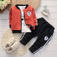 BibiCola Spring Autumn Baby Boy Clothes Set Kids Clothes Children Clothing Sets Baby Boys T-shirts+Pants 2PCS Tracksuit