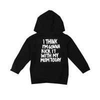 1-6Y Kids Baby Boy Girl Long Sleeve Back Letter Print Hooded Sweatshirt Hoodies Tops Autumn Clothes