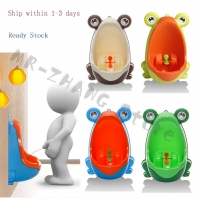 bebe Frog Children Potty Toilet Training Kids Urinal for Boys Pee Trainer Urinal Bathroom #H055#