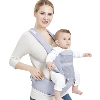 0-48 Months Ergonomic Baby Carrier Backpack With Hipseat For Newborn Multi-function Infant Sling Wrap Waist Stool Baby Kangaroo