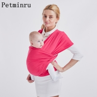 petminru  Baby Carrier Sling For Newborns Soft Infant Wrap Breathable Wrap Hipseat Breastfeed Birth Comfortable Nursing Cover