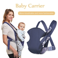 Drop Shipping Adjustable Baby Infant Toddler Newborn Safety Carrier 360 Four Position Lap Strap Soft Baby Sling Carriers 2-30 M