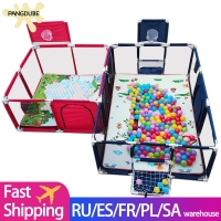 Baby Playpen for Children Playpen for Baby Fence Kids Ball Pit Pool Baby Playground Pool Balls Baby Kid Indoor Football Field