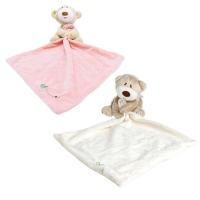 Baby Kids Comforter Washable Blanket Bear Soft Smooth Toy Plush Stuffed