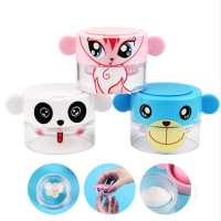 Practical Cartoon Pill Pulverizer Tablet Grinder Easy To Crush The Pills Medicine Cutter Crusher & Storage Tablet Box Holder