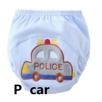 4pcs/Lot Baby Boy Training Pants Diaper Reusable Nappy Washable Cotton Learning Size100 for  13--16kg