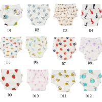 Big Discount[ 10pcs A Pack ] 100% Cotton Training Pants Embroidery Designs Baby Trainers Baby Wears Training Underwear