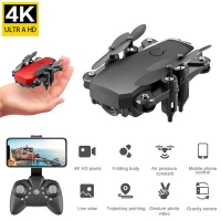 Mini Drone with 4K Camera HD Foldable Drones One-Key Return FPV Quadcopter RC Helicopter Quadrocopter Kid's Toys