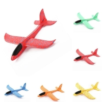 Hot Sell Epp Foam Hand Throw Airplane Outdoor Launch Glider Plane Kids   48cm Interesting Aeroplane Model Game Gift Toys 1pcs