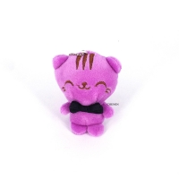Adorable 10CM Cats Plush Stuffed TOY , Key Chain Gift Doll For Wedding