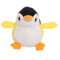 4Colors, NEW Penguin 8CM Plush Stuffed TOY DOLL ; Wedding Bouquet Gift With Keychain