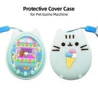 Protective Cover Shell Pet Game Machine Silicone Case for Cartoon Electronic Pet Game Machine