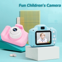 Children Digital Camera Kids Mini Photo Camera Toy 1080p HD 2 Inch Large Screen Educational Toy Toddler Birthday Gift Boy Girl
