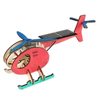 DIY Mini Solar Plane Assembled Toy Kids Handmade Science Experiment Interesting Invention Educational Toy Plane for Kids Gift
