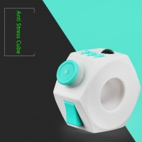Decompression Toy Press Magic Stress Relief Cube Toy Stress and Anxiety Relief Depression Cube for KIDS and Adults