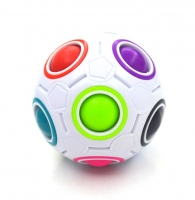 Creative Magic Rainbow Ball Cube Speed Puzzle Ball Kids Educational Learning Funny Toys for Children Adult Stress Reliever