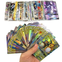 300 Pcs no repeat Pokemones GX card Shining TAKARA TOMY Cards Game Battle Carte Trading Children Gift Toy