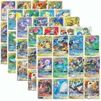 60Pcs/set Tag team EX Mega GX Shining Pokemon Cards Battle Game Cartoon Kids Collection Toys