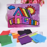 Diy House Crafts Toys For Children Felt Paper Girl Handicraft Kindergarten Material Funny Arts And Craft Kids Gift For Baby Boy