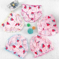 Baby 5 Pieces/lot Panties Children 100% Cotton Underwear Girls Suits 2019 Little Q Low Price Clothes Child Clothing