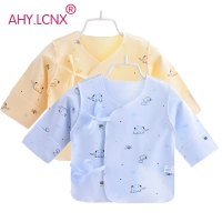 2019 Baby Girl Clothes Kimono Baby Boy Clothes Cute Cartoon Baby Clothes Newborn Romper Spring Summer Underwear Cotton Underwear
