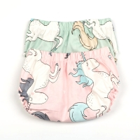 Infant Underwear Newborn Baby Girls Panties Unicorn Patterns Underpants Baby Boys Girls Short Panties Newborn Cotton Briefs