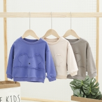 2019 New Arrival Baby Girls Sweatshirts Spring Autumn Children Hoodies Long Sleeves Sweater for Kids Cartoon Bear Clothes