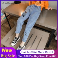 2019 New High Quality Girls Jeans Pants Spring Denim Jeans Kids Clothing Children Pants Casual Trousers Jeans For Girls Clothes