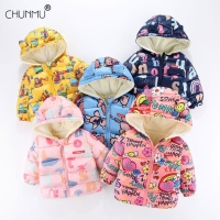 Baby Girls Jacket 2020 Autumn Winter Jacket For Girls Coat Kids Warm Hooded Outerwear Children Clothes Infant Girls Coat