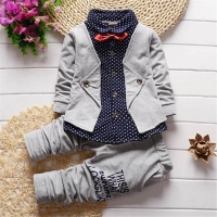 BibiCola spring autumn boys clothing set kids clothes sets children boys casual cotton 2pcs jackets+pants boys fashion outfit