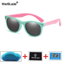 Kids Children Polarized Sunglasses Boys Girl Baby Unbreakable Silicone Safety Sun Glasses UV400 Eyewear Child Oculos with Boxes