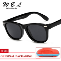 WarBLade Kids Boys TR90 Unbreakable Polarized Sunglasses Children Girls Safety Polaroid Sun Glasses Sport UV400 Mirror