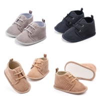 Toddler Baby Boys Soft Sole Crib Shoes Sneakers Size Newborn to 18 Months