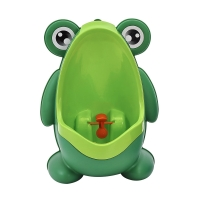 Frog Baby Potty Toilet Urinal Kids Potty training Baby Boys Pee Toilet infant Bathroom Wall-Mounted Urinal girls Travel Potty