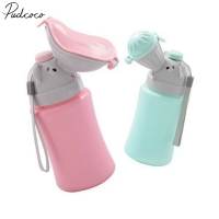 2019 Baby Travel Urinal Pot ABS Kid Portable Urinal Toilet Potty Training Baby Boys Girl Car Travel Supply 500ML