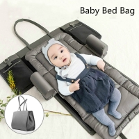 Portable Baby Crib Multi-Functional Nursery Travel Baby Bed Mummy Bag Folding Baby Sofa for Infant Toddler Baby Care Supplies