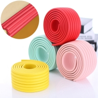 2M Child Protection Table Guard Strip Kid Protection Corner Protector Baby Safety Guards Edge Guards Solid Angle Rubber Bumper