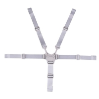 5 Point Seat Belt Wide Scope of Application Fashionable Exquisite Baby Safety Strap Safety Belt Chest Locking Clip Buckle