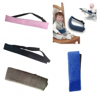 Baby Dining Chair Safety Belt Portable Seat Lunch Chair Seat Baby Waist Strap Polyester One Size Belt  for Baby Chair Protection