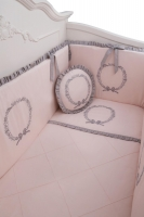 Sueno Rosa Embroidered Sleeping Set - Baby Duvet Cover - Child Duvet Cover
