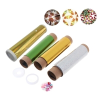1 Set DIY Colored Rotating Kaleidoscope Kits Science Experiment Educational Craft Kid Brain Hands-Eyes Cooperation Training Toy