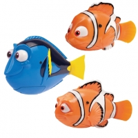 1 Pcs Flash Swimming Electronic Pet Robot Fish Bath Toys for Children Kids Battery Powered Swim Robotic Fishing Nemo Decoration